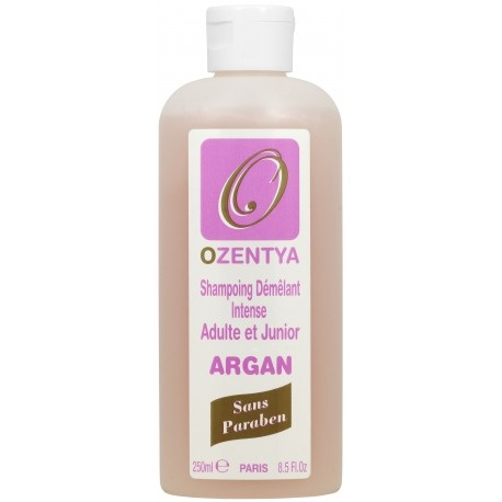 SHAMPOING ARGAN ADULTE ET JUNIOR  OZENTYA 250 ML